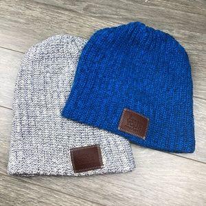 Love Your Melon Knit Beanie Hat Bundle